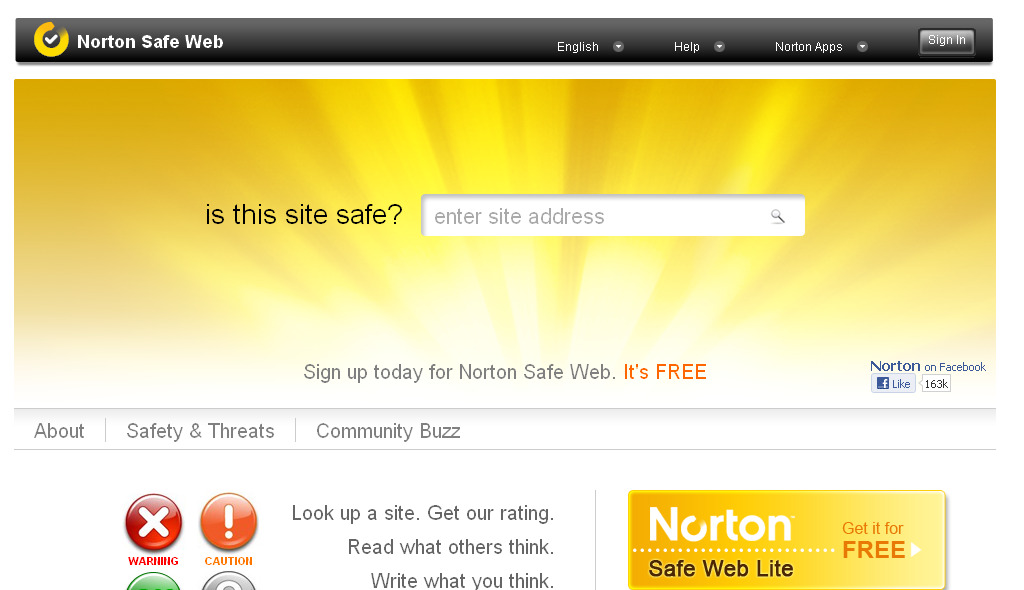 Safe Site Checker >> Free Tools To Scan Malware In Your Website